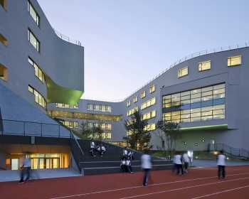 OPEN Architecture Beijing No.4 High School Fangshan Campus